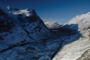 The world renowned Pass of Glencoe