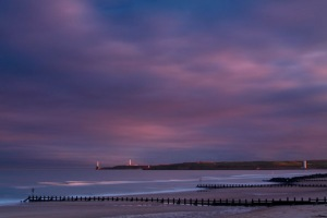 The North Sea at Aberdeen